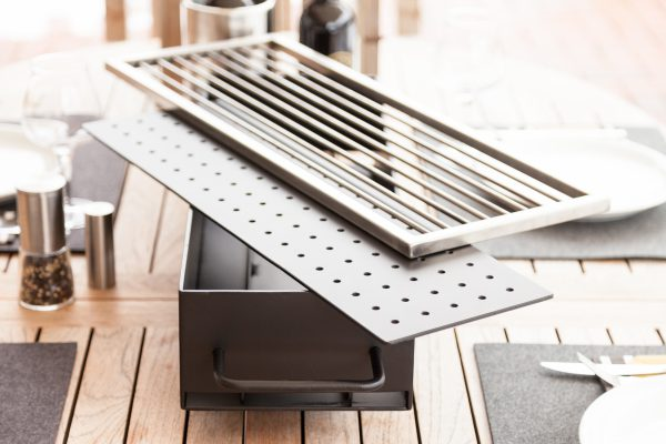 Steel-Craft - Tischgrill - Edelstahl, Stahl lackiert
