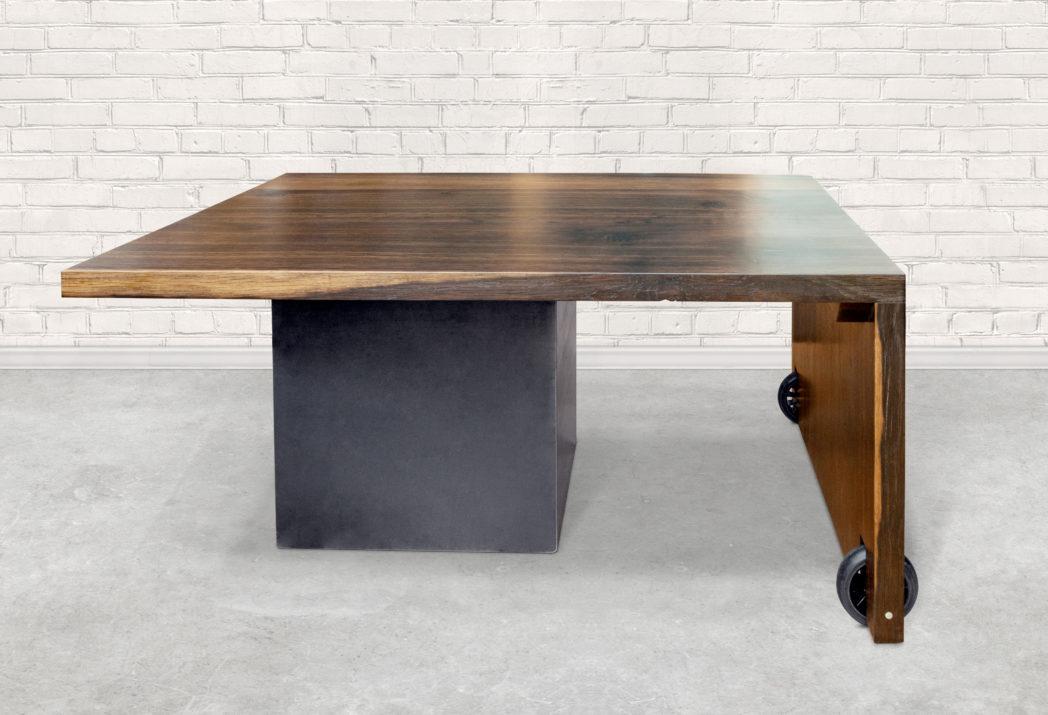 Steel-Craft - Tisch rollbar mit Staufach
